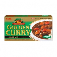 golden curry japonais medium moyen fort s&b 92g