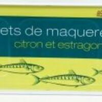 filets de maqueraux citron extragon
