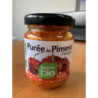 puree de piment rouge bio 90g