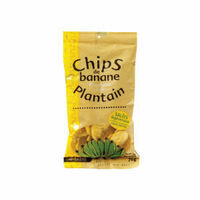 chips de banane salees 70g