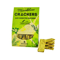 crackers happy thyme ténébrion - insectes comestibles