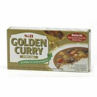 golden curry japonais medium s&b 100g