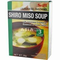 3 x soupes miso shiro 30g