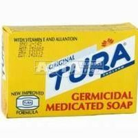 germicidal medicated soap tura