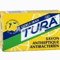 antiseptic lemon citron soap tura