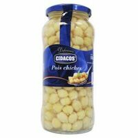pois chiches cuits 570gr