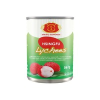 litchi au sirop léger 567gr spring happiness