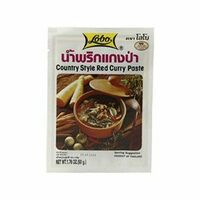 pate de curry rouge country style 50g