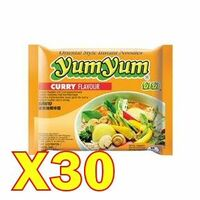 carton yumyum curry 30x60gr