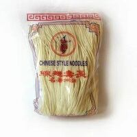 nouilles de ble blanches style chinois 400gr td