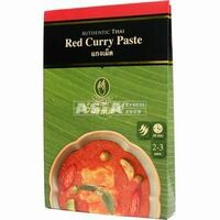 pate de curry rouge nittaya 50g