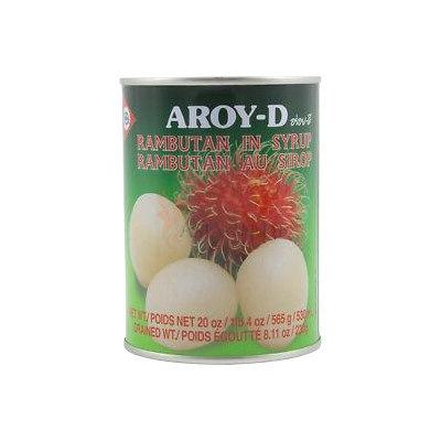 rambutans au sirop aroyd 230g
