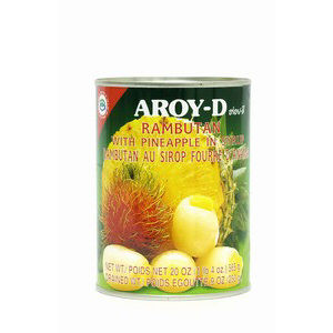 ramboutans et ananas aroyd 565gr