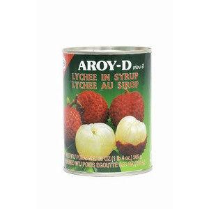 lychee au sirop 565gr aroyd