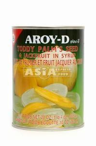 fruits jacquier et palmier aroyd 565g