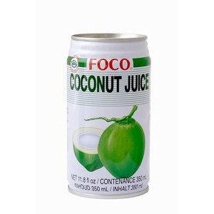 jus de noix de coco 350ml foco