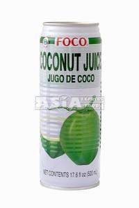 jus de coco et chair 520ml foco