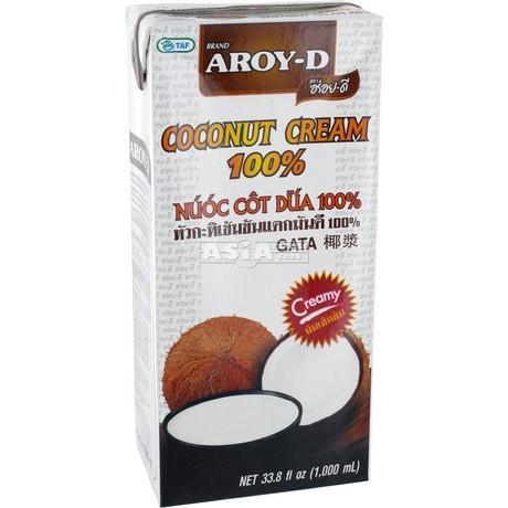creme de coco 1l aroy-d 100%