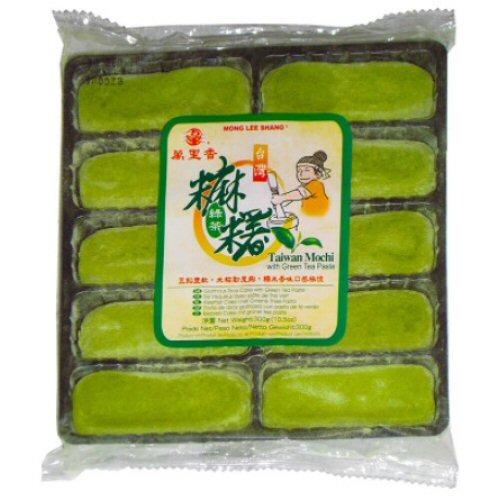 10x mochi long aux aux thé vert 300gr mong lee shang