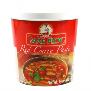 pate de curry rouge mae ploy 400g