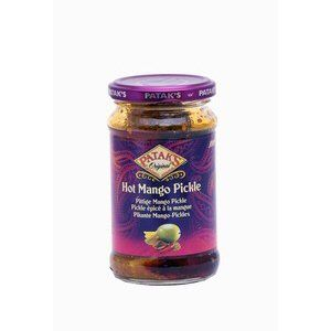pickles epices a la mangue pataks 283g hot