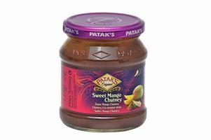 chutney de mangue pataks 340gr