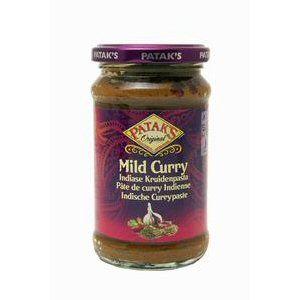 pate de curry mild pataks 283gr