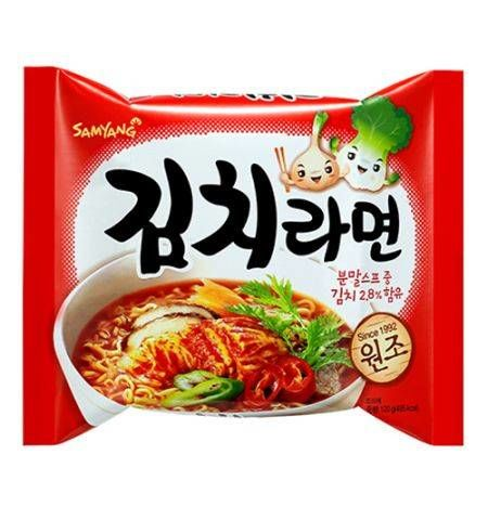 nouille coreenne au kimchi sam yang 120 g