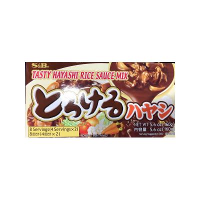 préparation japonaise  pour sauce brune  sb 160g