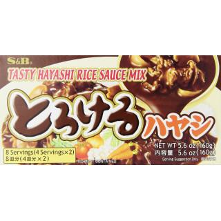 préparation pour riz japonais hayashi 160gr