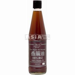 huile de sesame 100% yeo's 640ml