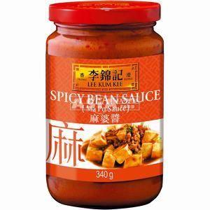 sauce haricot epicee 340g