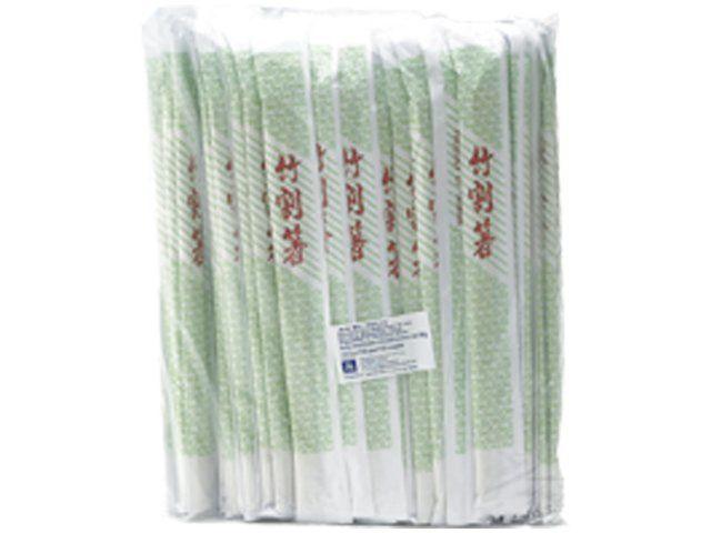100 baguettes en bambou 21cm