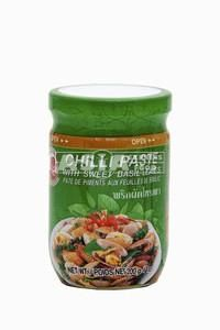 pate piment feuilles basilic thai 200gr cock