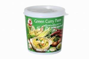 pate de curry vert 400gr cock