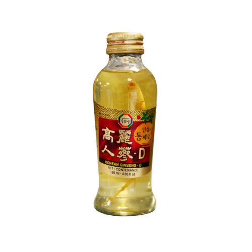 boisson fortifiante au ginseng 120ml