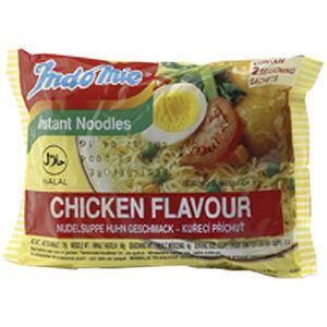 carton indomie poulet halal 40x80g