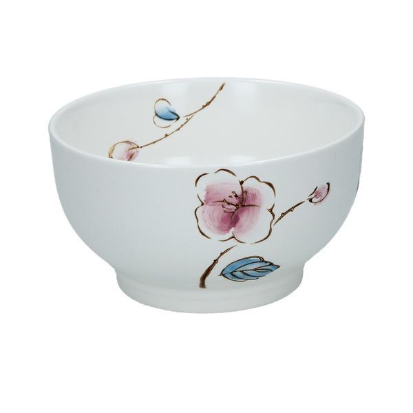 bol 11.4cm japonais ceramique fleur de prunier