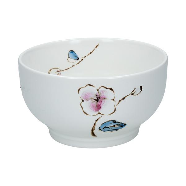 bol ceramique fleur de prunier 12.6cm