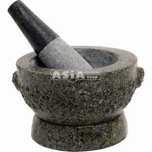 mortier pilon 12,5cm pierre