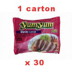 carton yumyum canard 30x60gr