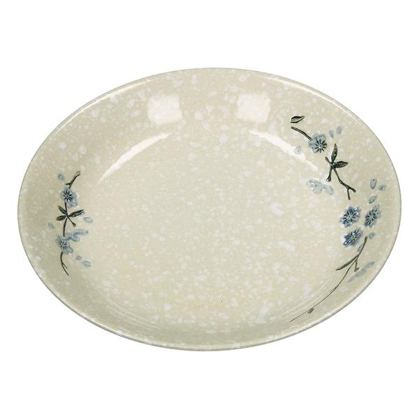 plat japonais flocon de neige (21 cm)