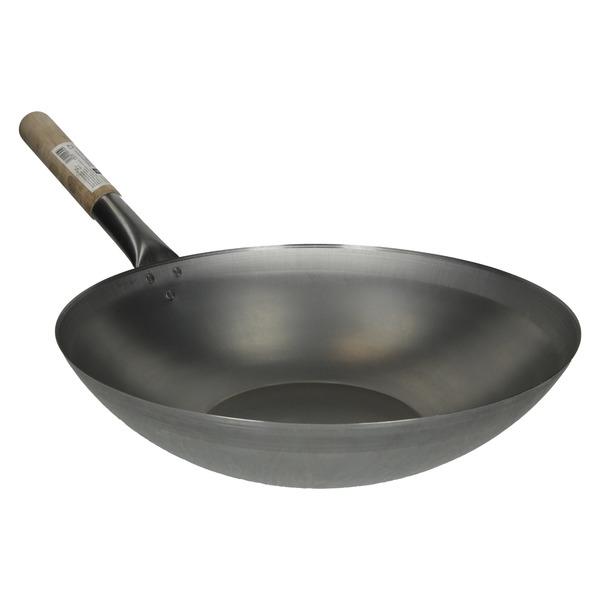 wok a fond plat 33cm