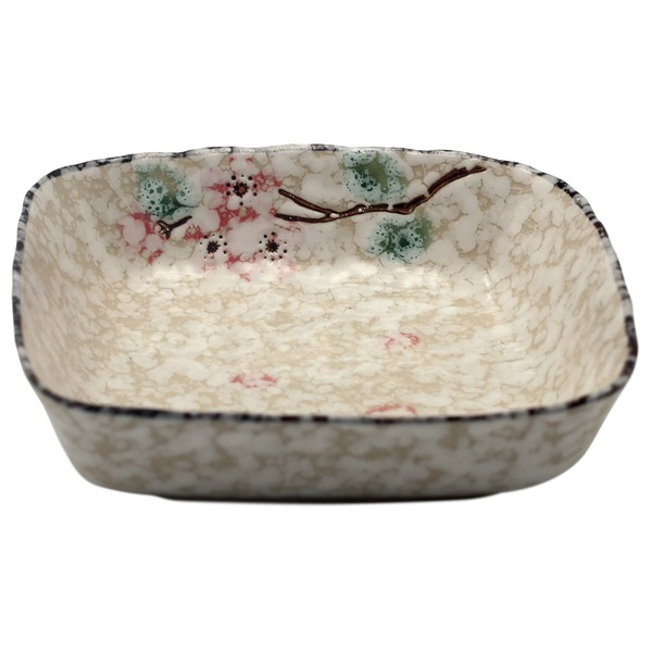 plat en céramique neige 10,5 cm