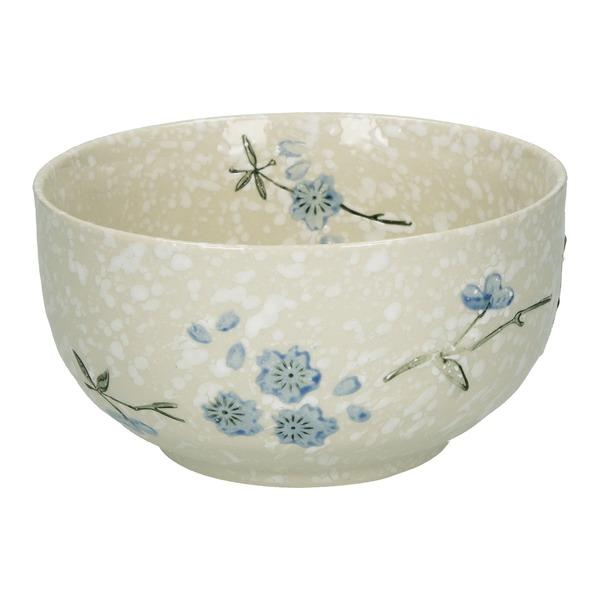 bol japonais ceramique flocons de neige 12.6cm