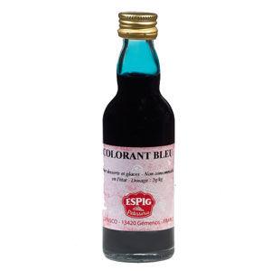 colorant liquide bleu 50ml