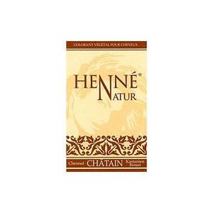 henne chatain naturel