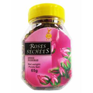 fleur de roses sechees 65gr