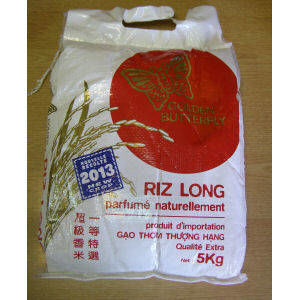 riz long parfumée naturellement 5kg golden butterfly
