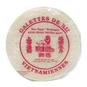 galettes de riz 28cm lion 1kg